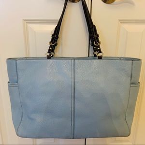 Coach Multi Function Leather Baby/Diaper Bag